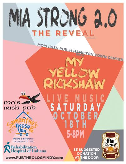 Mia Strong Reveal Flyer Picture